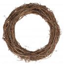 Grape wreath, diameter 70cm, nature